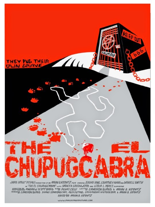 THE EL CHUPUGCABRA poster