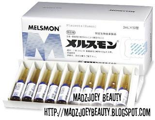 MadzJoey Beauty: Melsmon Placenta / Melsmon 胎盘素