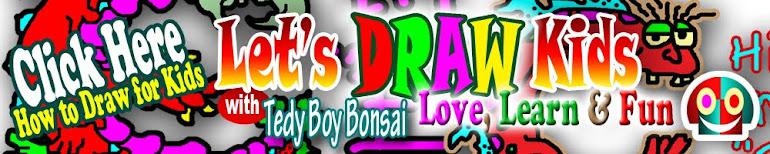 gambar kartun lucu u anak kecil paud tk sd cartoon drawing doodle graffiti