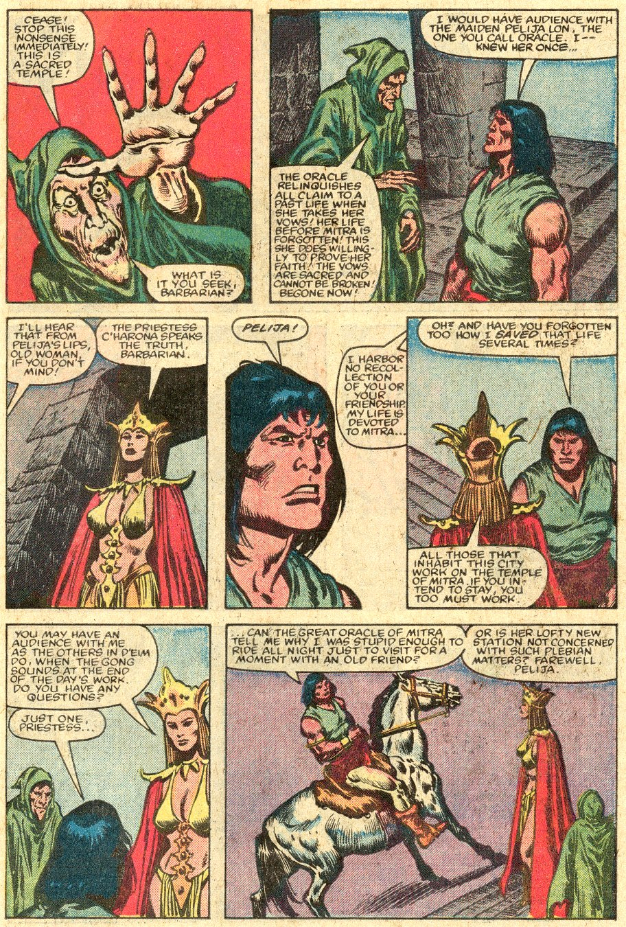 Conan the Barbarian (1970) Issue #147 #159 - English 10