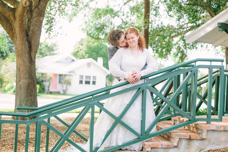 delray old school square wedding photo