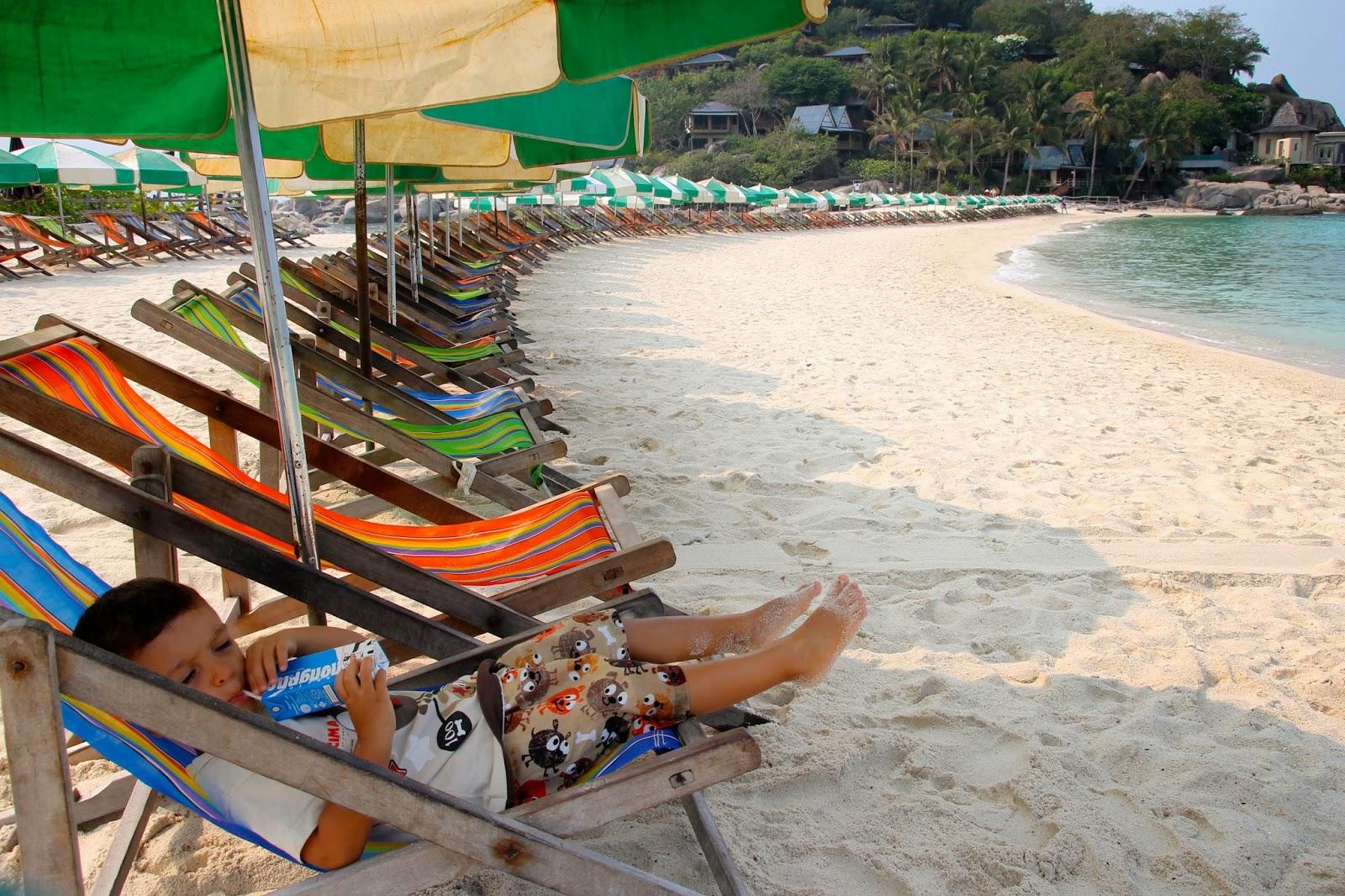 Melhores praias da Tailandia - Nang Yuan em Ko Tao