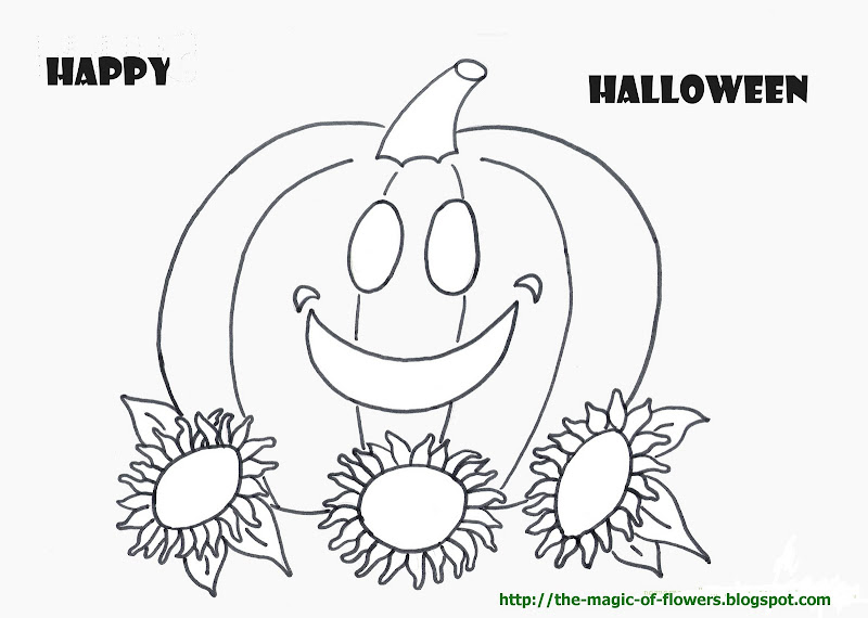 Free coloring pages for Halloween title=