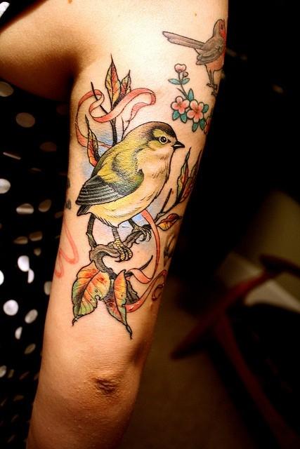 Tatuaje pajarito