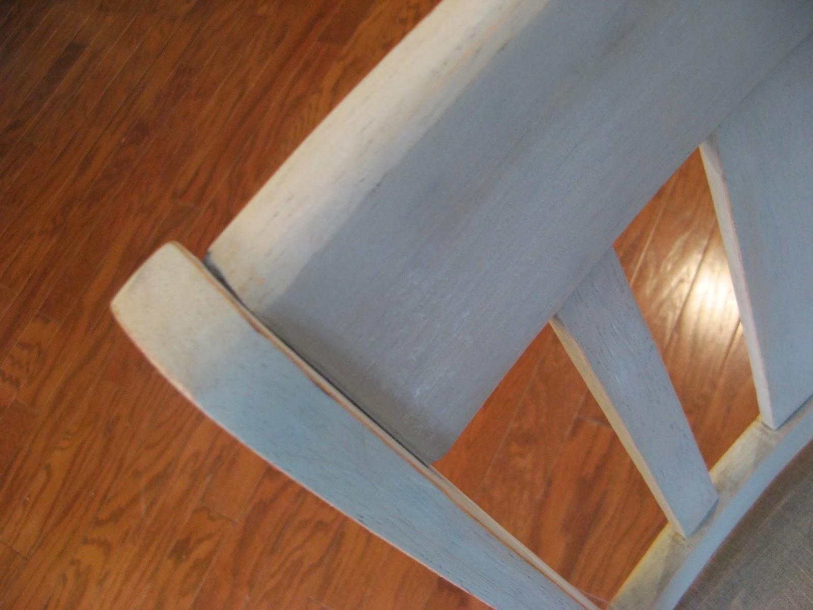 Chair - Driftwood Paint Technique