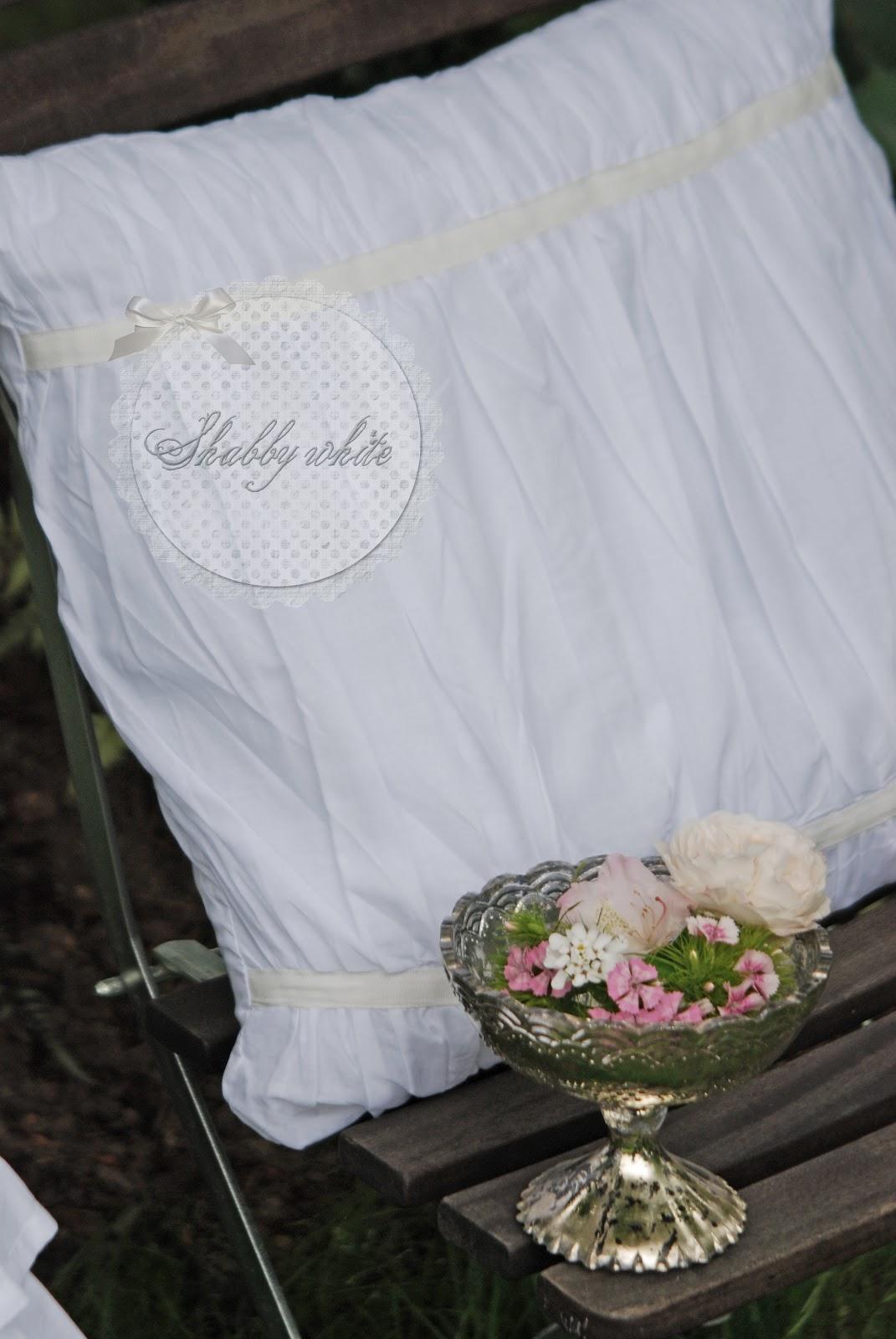 Weisse Shabby chic Kissen | Cottagedreams