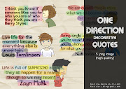 One Direction Decorative Quotes. FREE TO USE^^ But don't claim as yours^^