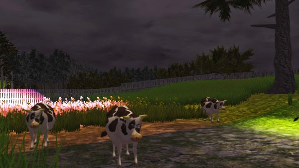 Grass Simulator review cows and disco