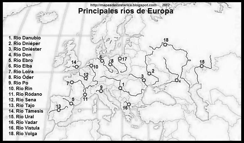 EUROPA  MAPAS DE