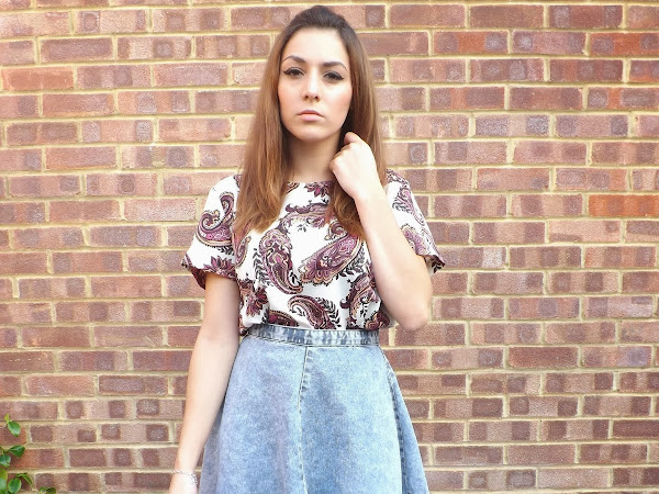 What Cat Wore: Paisley Prints
