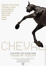 """SAINT MALO : CAPTON PARTICIPE À L'EXPOSITION """"CHEVAL"""" À LA GALERIE DES SABLONS"""