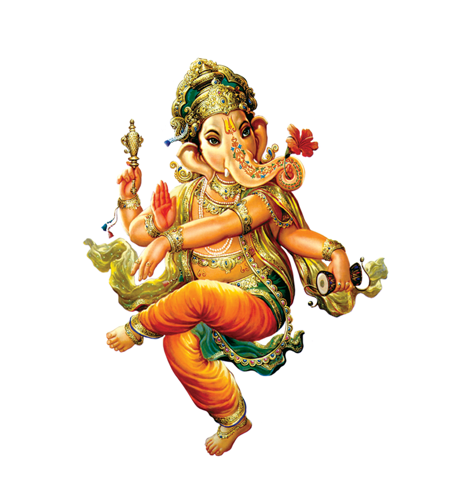 Lord Ganesha Outline Vector - Free Vector Search Engine