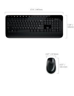 gadget clavier Microsoft Wireless Desktop 2000 crypte