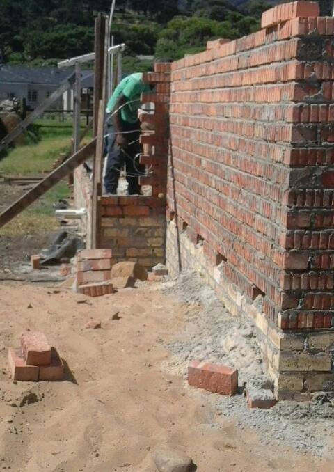 Bricklaying is an art!