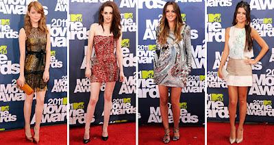 2011 MTV Movie Awards, fashion