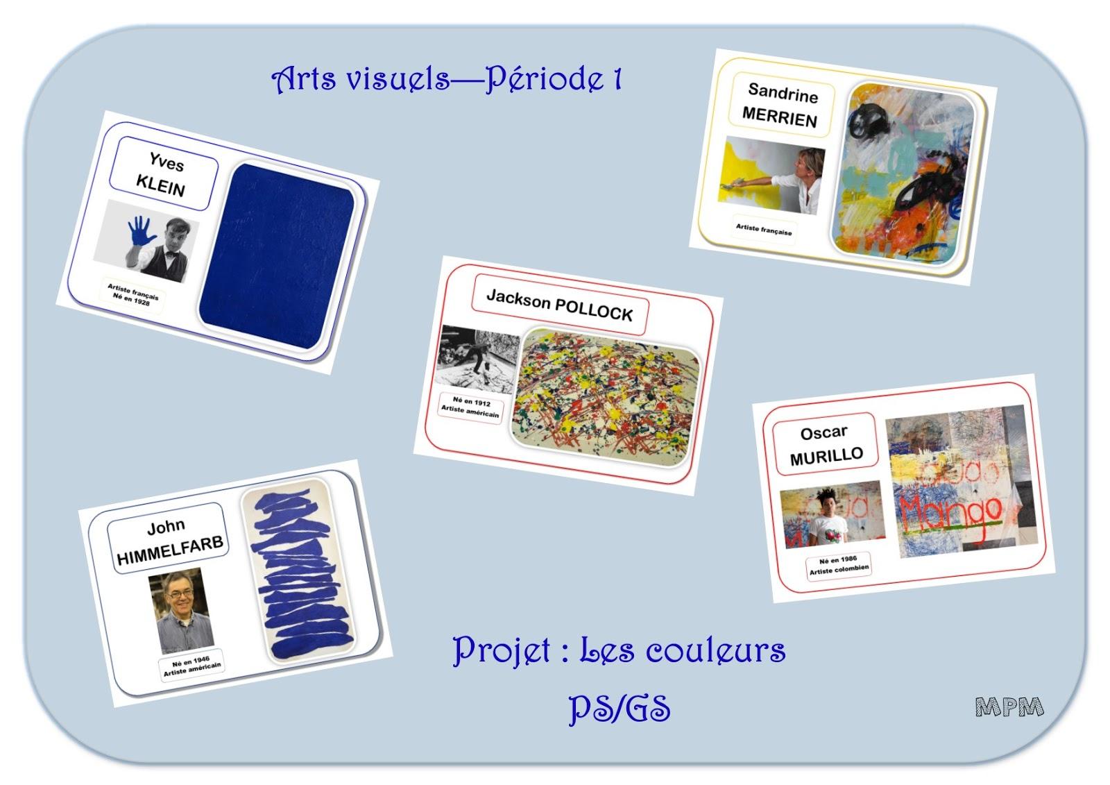 Bien connu Projet Arts Visuels - Les couleurs OA52