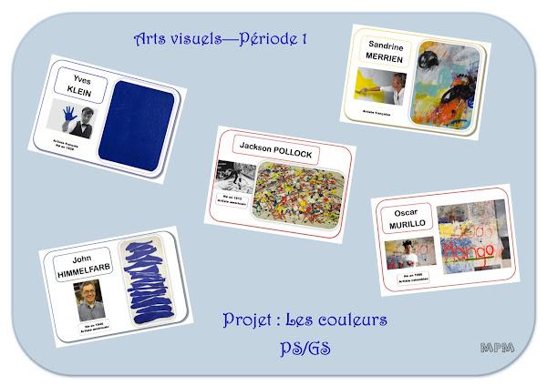Projet arts visuels : les couleurs en maternelle
