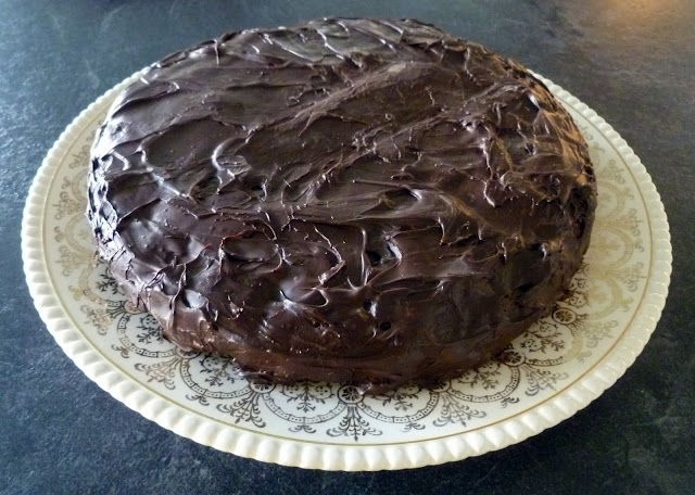 From 'Sense & Simplicity: Prince William's Chocolate Biscuit Cake'