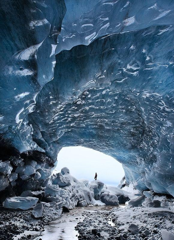 1 صور كهف الجليد في سكافتفيل, ايسلندا