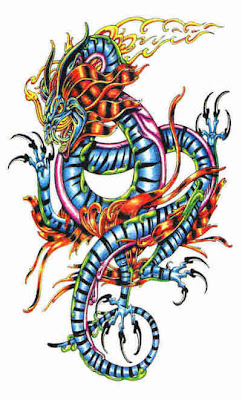 Design Tattoo Naga Berwarna