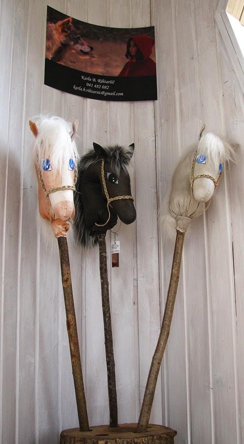 konj na palici made by Karla B.. Rihtaršič