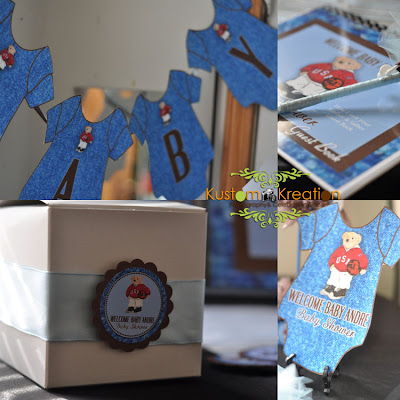 celebration decor denim chocolate polo inspired baby shower
