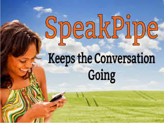 Speakpipe Keeps the Conversation Going via @Ileane