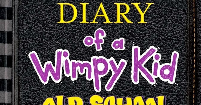 Old School Book Cover : Jeff kinney goes old school with diary of a wimpy kid book