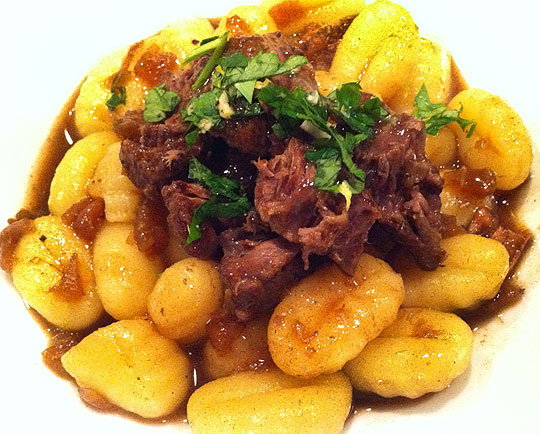 Food Hunters Guide to CuisineVeal Osso Buco with Gnocchi