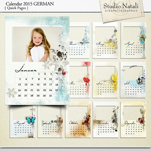 http://shop.scrapbookgraphics.com/Calendar-2015-German.html