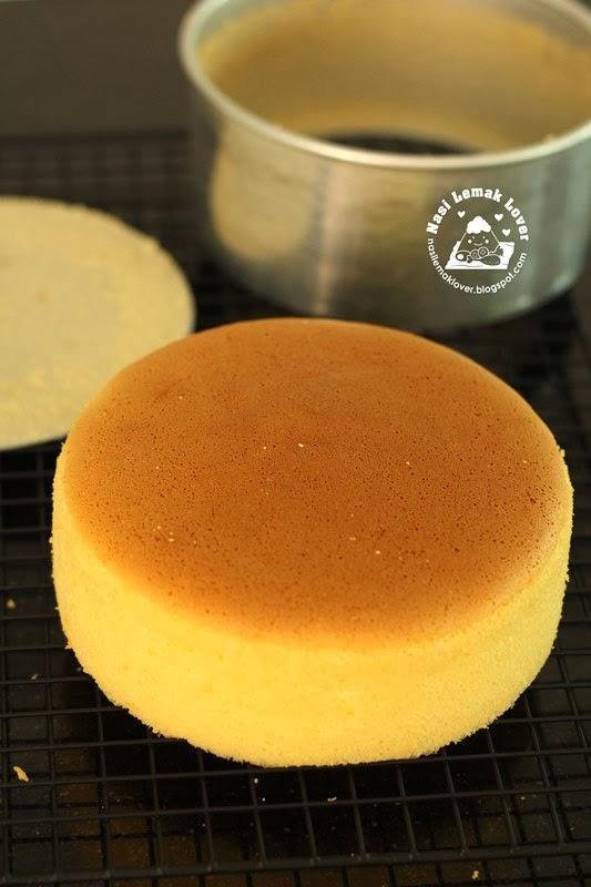 Golden Sponge Cake Nasi Lemak Lover