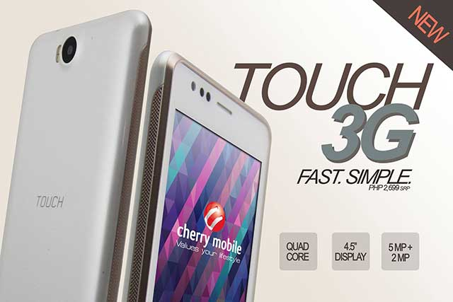 Cherry Mobile Touch 3G: Specs, Price and Availability