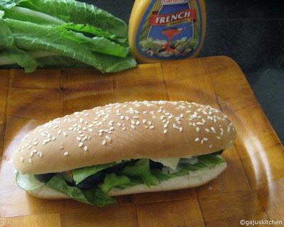 Sub style Sandwich