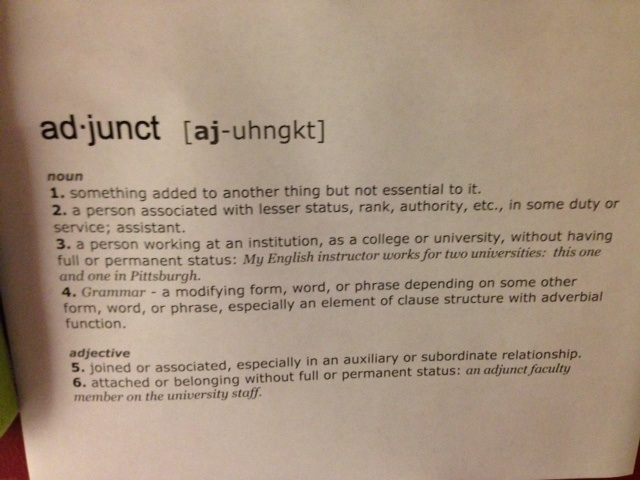 Adjunct Definition