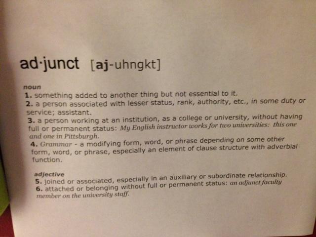 Adjunct Definition