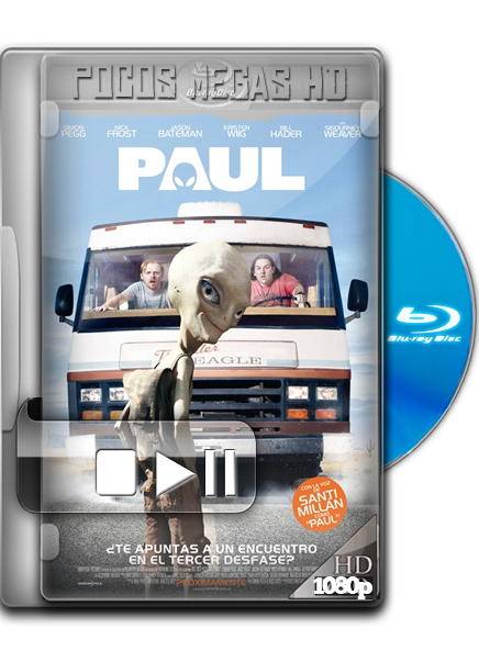 Paul [Version Extendida] [2011] [BRRip 1080p] [Dual Latino/Ingles] [Ligero]