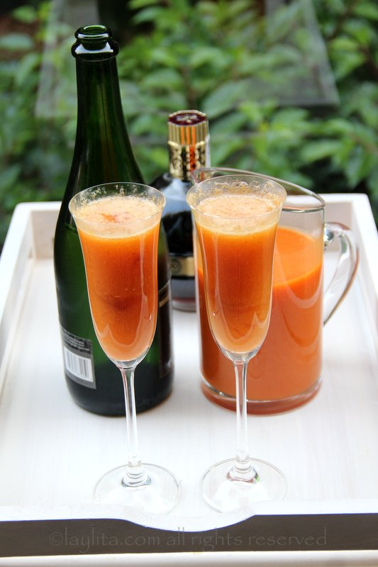 bellinis for virgin bellinis use sparkling cider peach bellini recipe