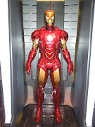 Iron Man Mark IV armour that featured in Iron Man 2 (ironman markiv suit)