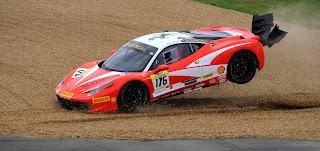Ferrari 458 Challenge Hublot