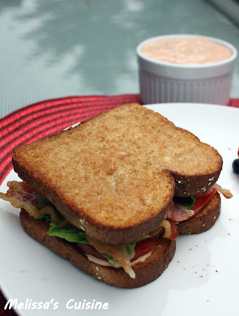 Melissa's Cuisine: BLT Sandwiches with Burger and Fry Sauce