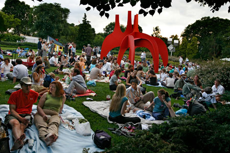 Bless Your Heart Virginia Jazz It Up In The Sculpture Garden