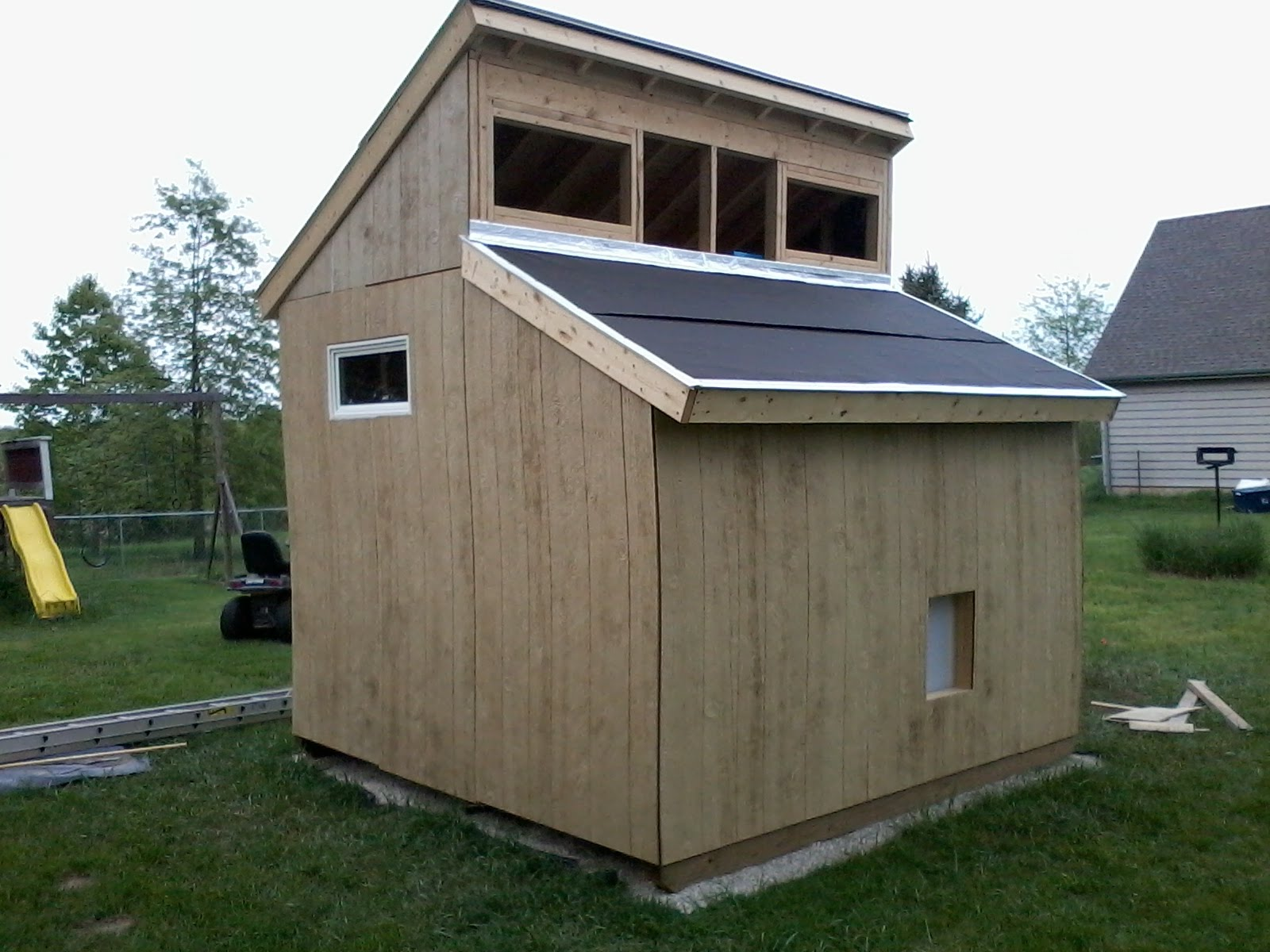 clerestory shed plans diy free download build easel tv
