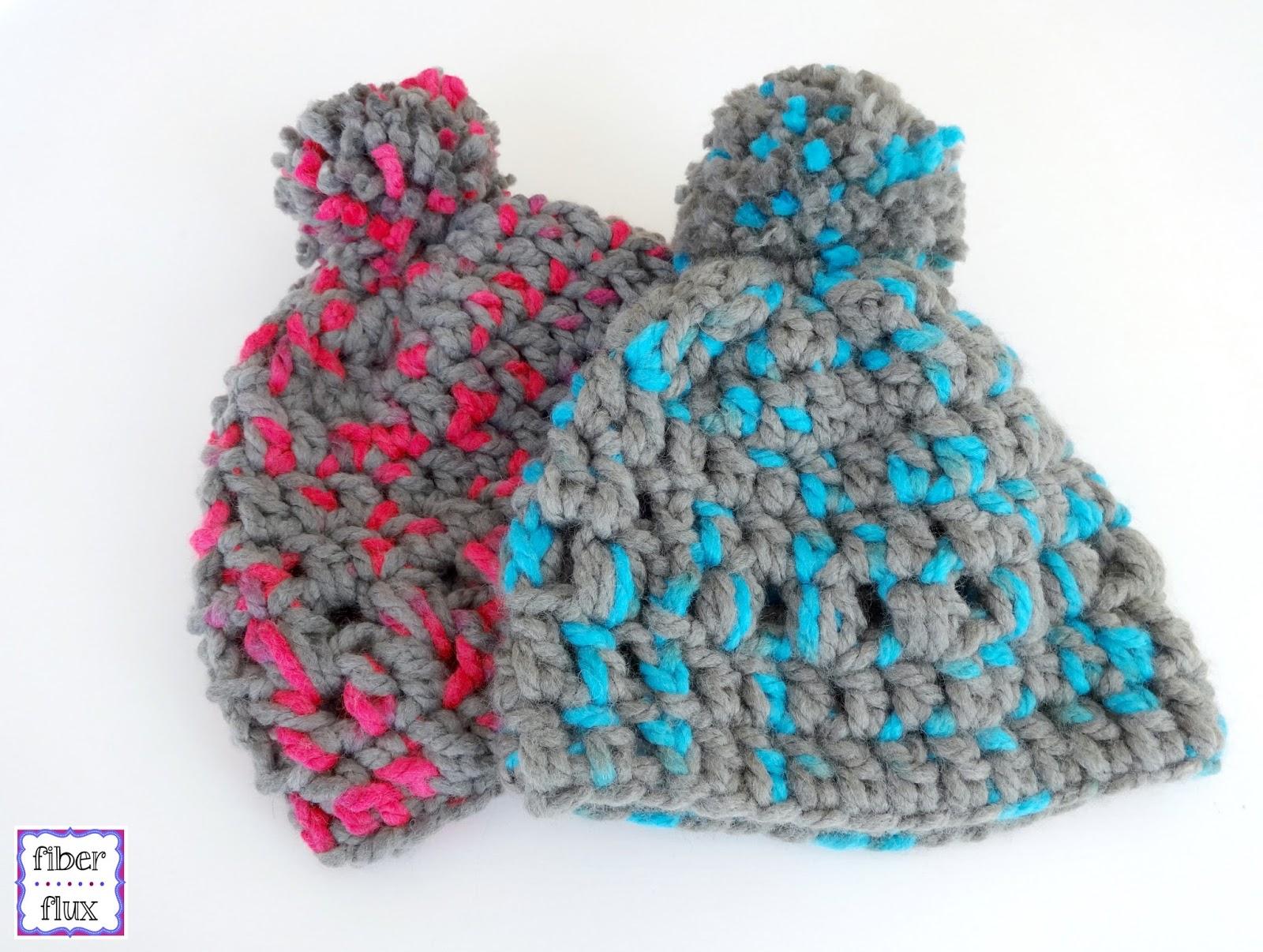 Fiber Flux: Free Crochet Pattern...Happy Kid Lids!
