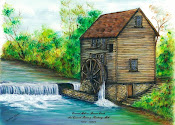 Painting of Coward Mill