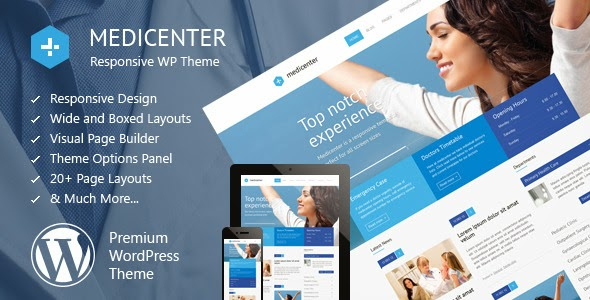 MediCenter v4.2 - Responsive Medical WordPress Theme