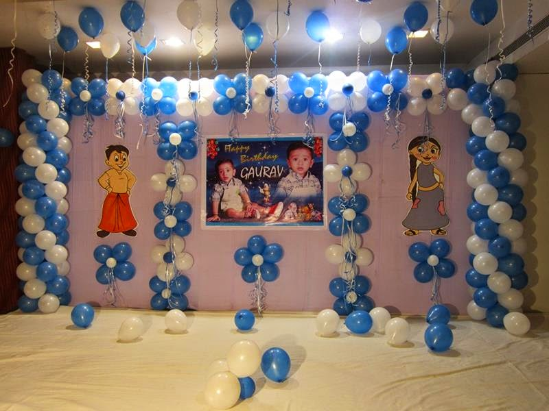 Cradle ceremony decirations for Balloon decoration for birthday party in hyderabad