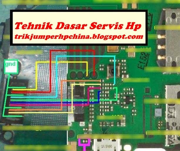 ... Atasi Jalur Konektor Lcd Hp Nokia c1-01 Putus | Teknik Dasar Servis Hp