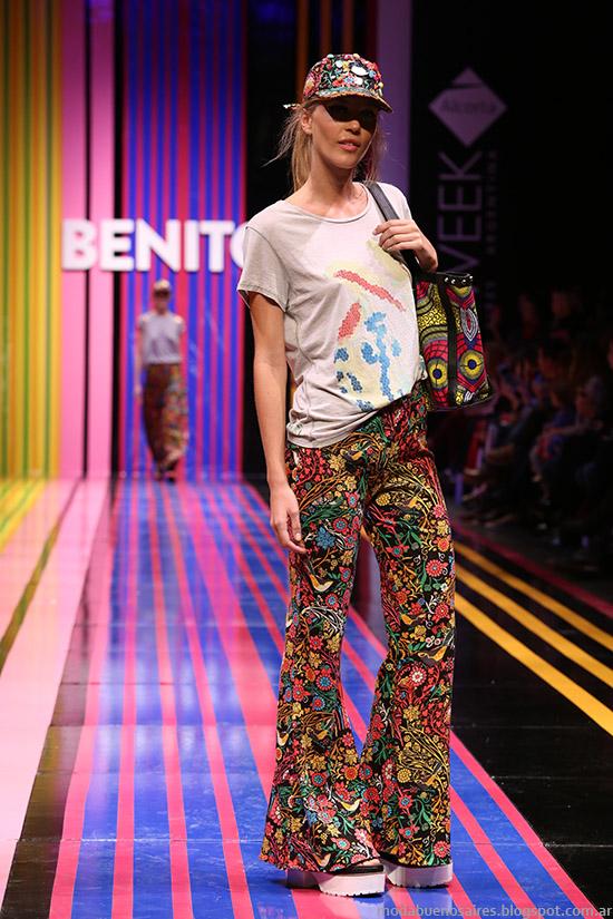 Benito Fernandez primavera verano 2015 pantalones oxford.