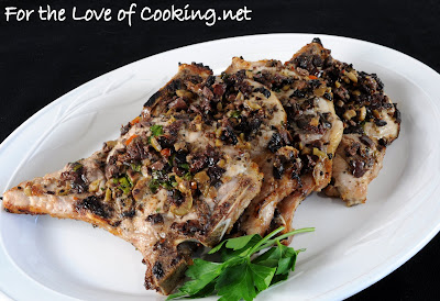 Tapenade Pork Chops