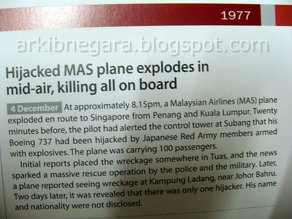 pesawat MAS terhempas